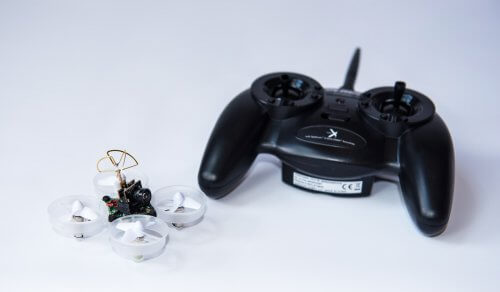 1 Tiny Whoop Drone with camera, goggles and video transmitter